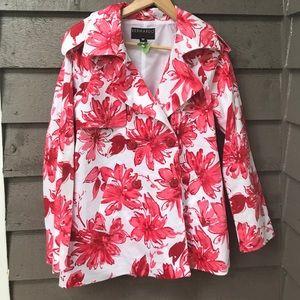 Bernardo floral jacket