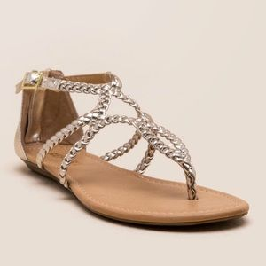 Shoes - Silver sandal