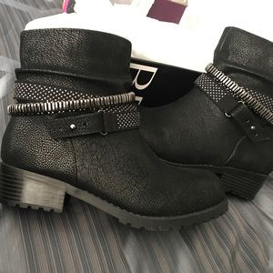 Brand New Black Ankle Booties