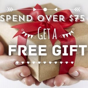 Spend over $75 and get a free Gift 🎁