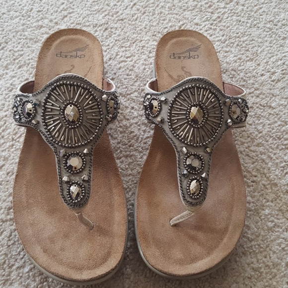 992df89a1058 dansko Shoes - Dansko Pamela beaded sandals size 40  9-9.5