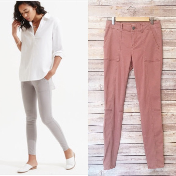 cf65dfdf41da8a LOFT Pants | Lou Grey Brush Up Skinny Cargo | Poshmark
