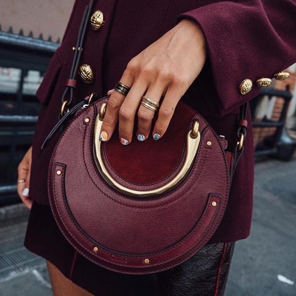 852253115e5 Melie Bianco Bags | Harley Burgundy Round Crossbody | Poshmark