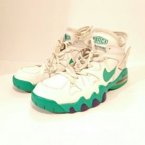Nike Shoes - Nike Air Max 2 Strong White Violet Atomic Green 55