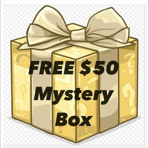 FREE SEPTEMBER/OCTOBER $50 Mystery Box 