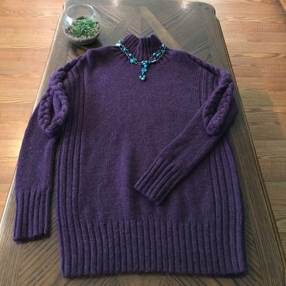 55% off Victoria's Secret Sweaters - VS Moda International Purple ...