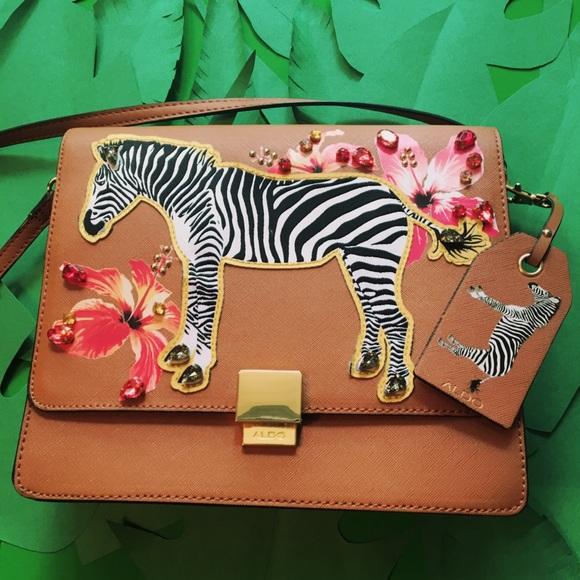 c965930d73a Aldo Handbags - ALDO safari satchel bag