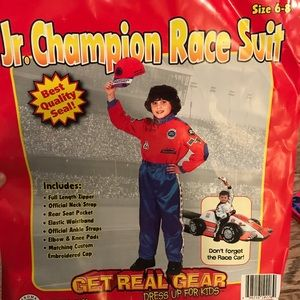 Other - Boys Race car driver costume size 6-8.