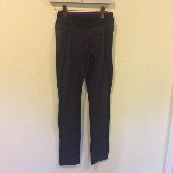 lululemon athletica Pants - Lululemon purple heathered leggings