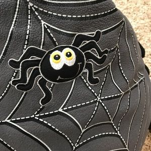 New Childrens Place Black SPIDER Costume 6-12 Months