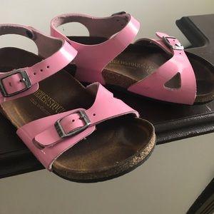 Baby doll pink Birkenstocks
