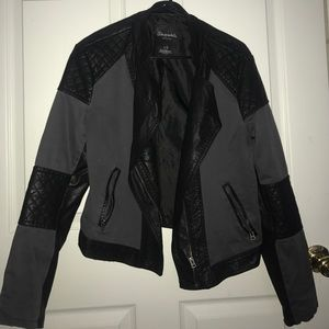 Aeropostale Biker Jacket faux leather