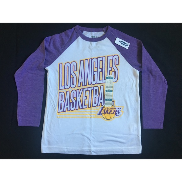 368217bdd73 NWT Old Navy NBA Los Angeles Lakers Tee XS (5)
