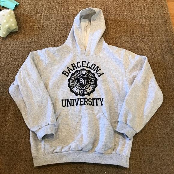 Barcelona university sweatshirt