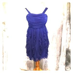 Sapphire Blue Homecoming or Date Night Dress