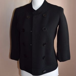 Talbots Women's Double Breasted Jacket Small