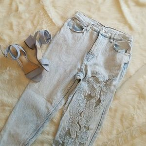 CCO Sale Vintage Acid Wash Jeans