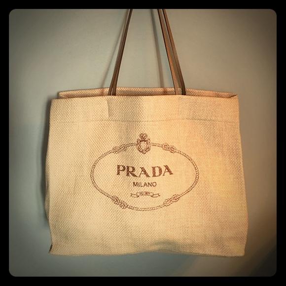 6d61db590116 Prada Bags | Beach Tote Brand New | Poshmark