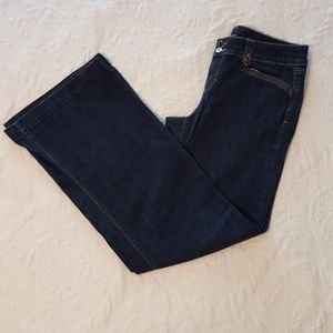 WHBM - Flare Wide Leg Jeans