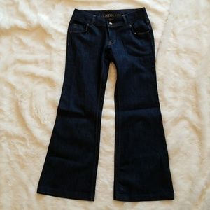 NWT Lands End Flare Jeans