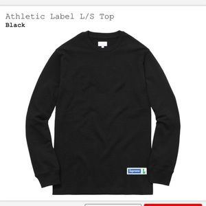 Supreme Athletic Label Long Sleeve Tee