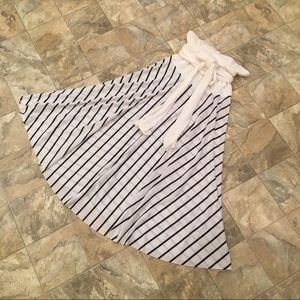NWOT CATALINA strapless striped dress