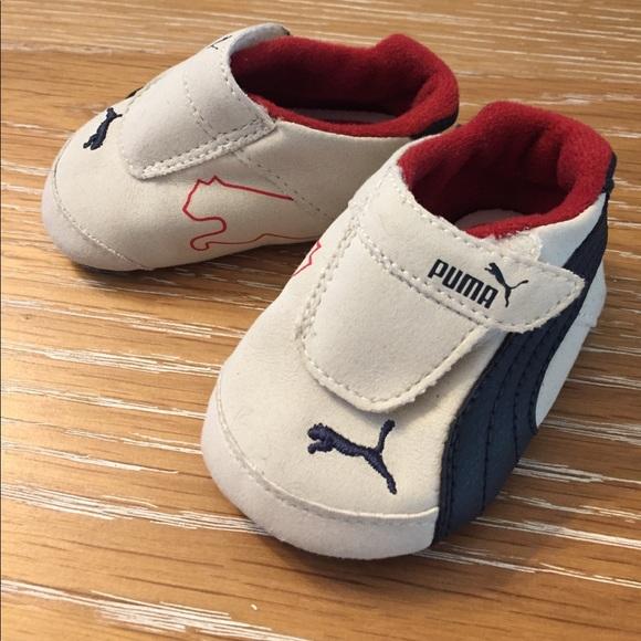 infant puma shoes size 3
