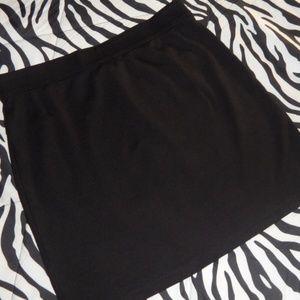 Sophie Max:  Stretch Short Skirt   LS (XS)