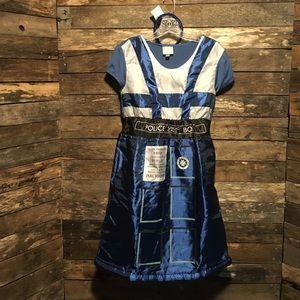 Dr Doctor Who BBC TARDIS Costume Dress