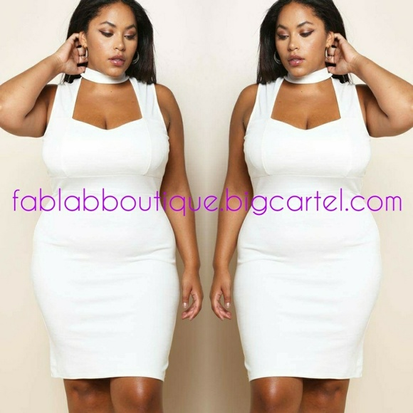 Cream Dress Plus Size 18/20