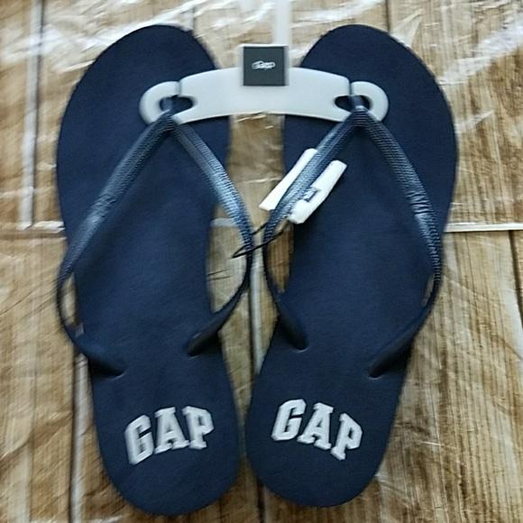 a8bae523 GAP Shoes | New Womens Wedge Navy Blue Flip Flop Flops | Poshmark
