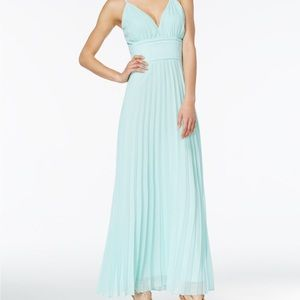 NWT Crystal Doll juniors' strappy-back maxi dress