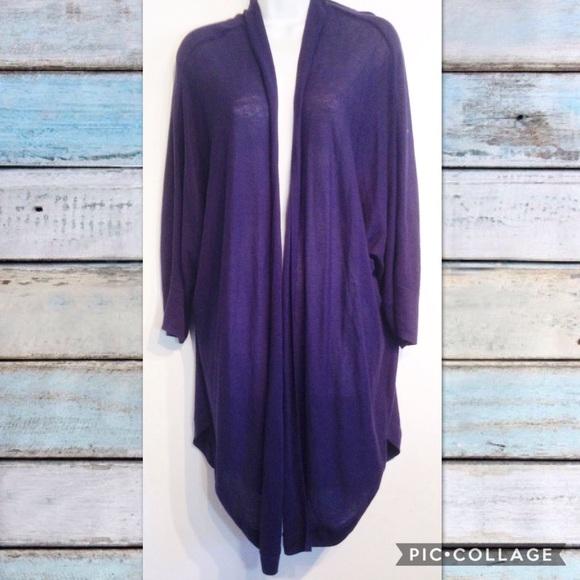 406c514f087105 Pure Energy Sweaters   Plus Size Long Navy Knit Cardigan   Poshmark