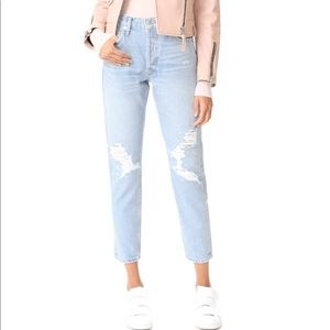 Vintage inspired high waisted jeans