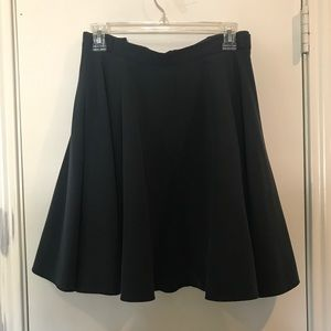 Plus Size ASOS Curve Skater Skirt w/ belt loops