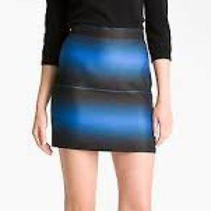 Marc Jacobs Real Silk Ombré Skirt