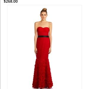 Js collections red gown