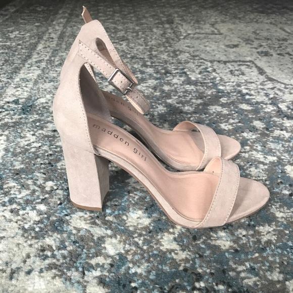 6ed6c5cdc0c537 Brand New Madden Girl Bella Heels in Blush