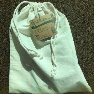 "Handbags - NEW Cotton drawstring pouch 11"" x 14"" size"