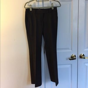Trouser pant, size 0P, available in gray or black
