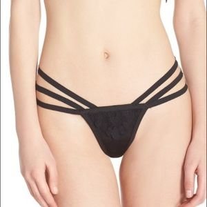 For love and lemons black thong
