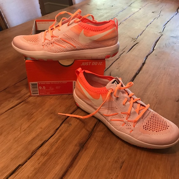 Nike Shoes Nwt Free Tr Focus Flyknit Womens 95 Poshmark