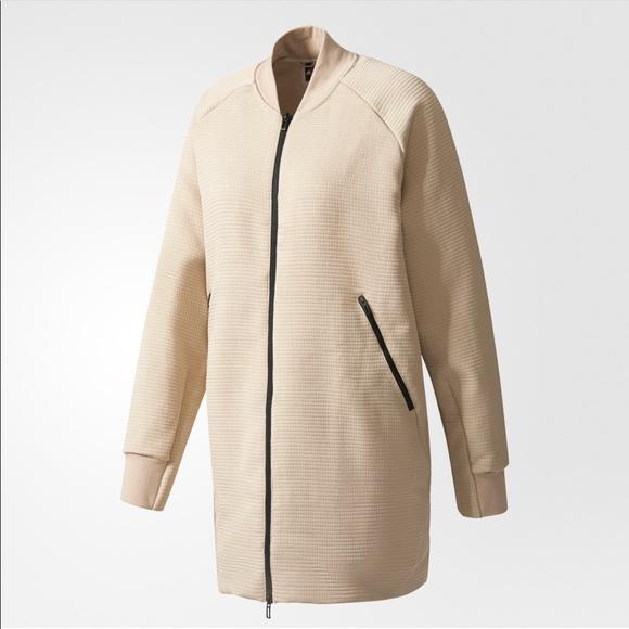 khaki adidas women's jacket