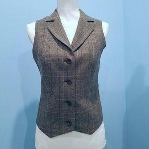 NWOT TED BAKER Tweed print waistcoat / Vest