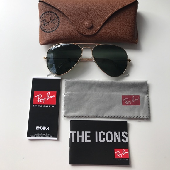 Ray-Ban Accessories - NEW Ray-Ban Aviator Sunglasses
