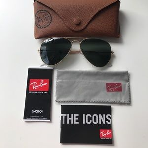 NEW Ray-Ban Aviator Sunglasses