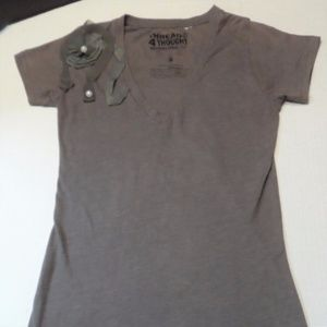Tee T-Shirt Threads 4 Thought Textured Size Small