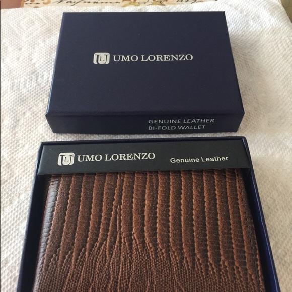 ce0e9dd85b8 Genuine Leather Wallet Men s Bi-Fold Snake Texture