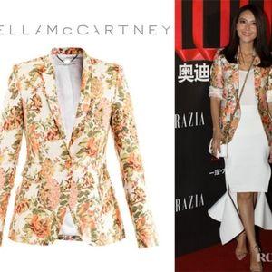 STELLA MCCARTNEY   Floral Jacquard Jacket Size 42