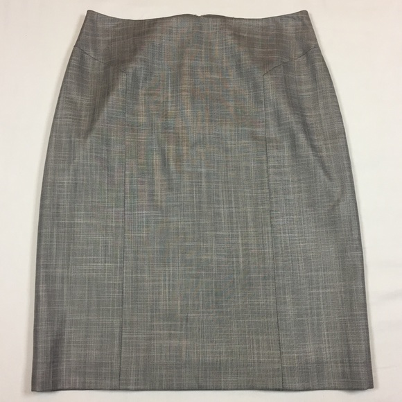 c8ba089c3a ANTONIO MELANI Skirts   Gray Pencil Skirt Size 4   Poshmark